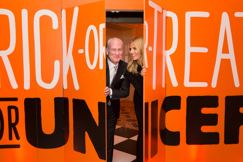 Heidi Klum Honored at UNICEF Children's Champion Dinner in Boston