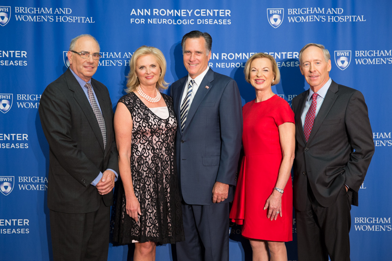Brigham & Women's Hospital Announces Ann Romney Center for Neurologic Diseases